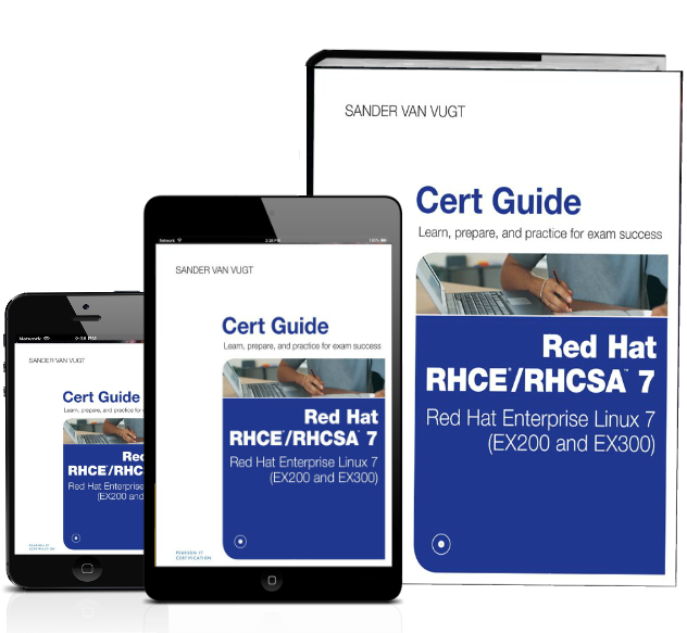 Red Hat RHCE RHCSA 7 cert guide