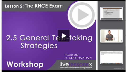 rhce General test-taking strategies