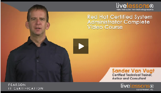 RHCSA® Complete Video Course intro