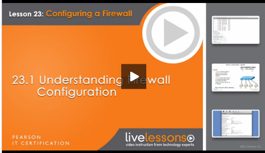 RHCSA® Complete Video Course understanding firewall configuration