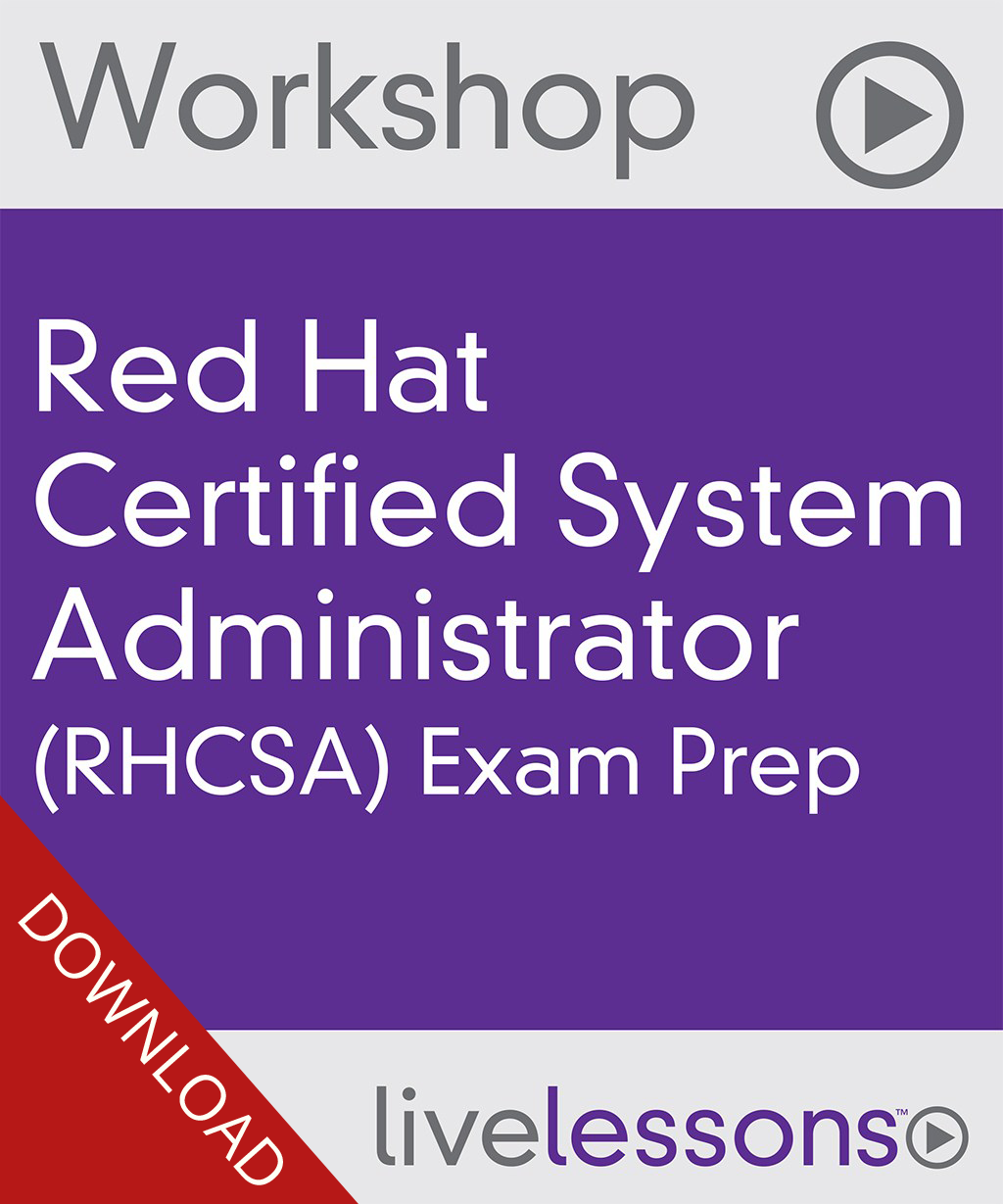 Rhcsa complete video course rhatcertification rhcsa rhce rhsca exam prep video workshop download baditri Gallery