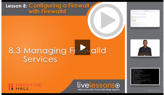 rhel 7 new features Managing Firewalld Services