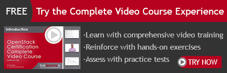 Sample videos and complete outline OpenStack Certification Complete VIdeo Course