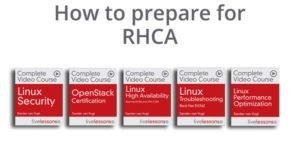 Learning path rhca