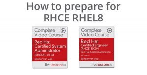 RHCE RHEL 8 Learning path